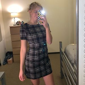 Plaid business dress